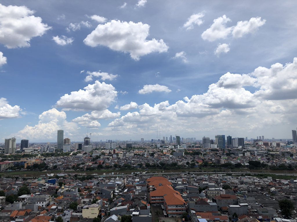 Jakarta's air pollution - Sky in March 2020