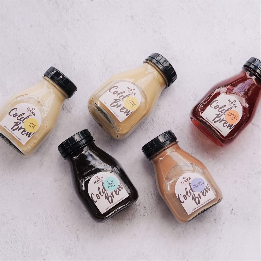 Maxx Coffee in Singapore - Cold brew series