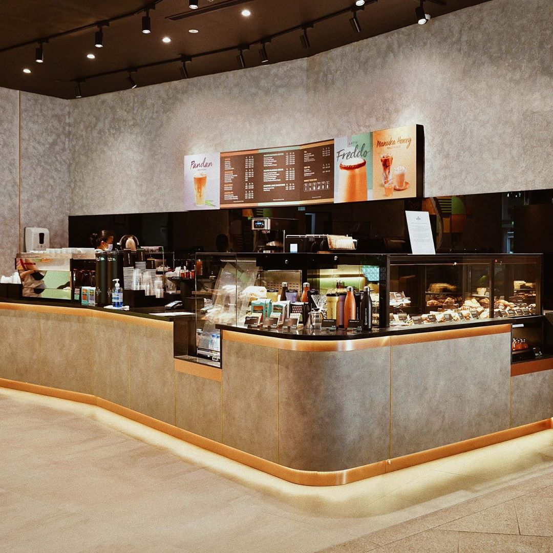 Maxx Coffee in Singapore - Jurong East Mall bar