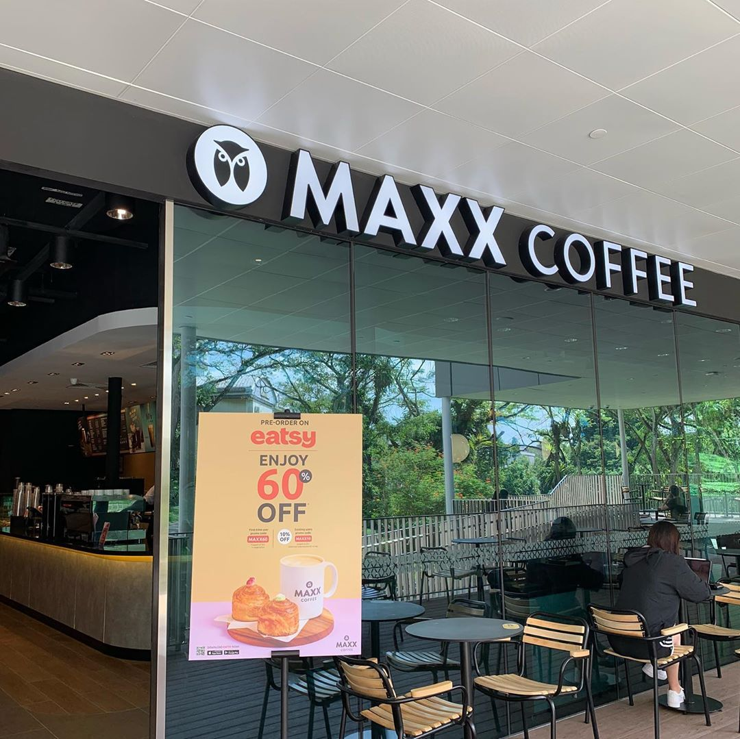 Maxx Coffee in Singapore - NUS Library