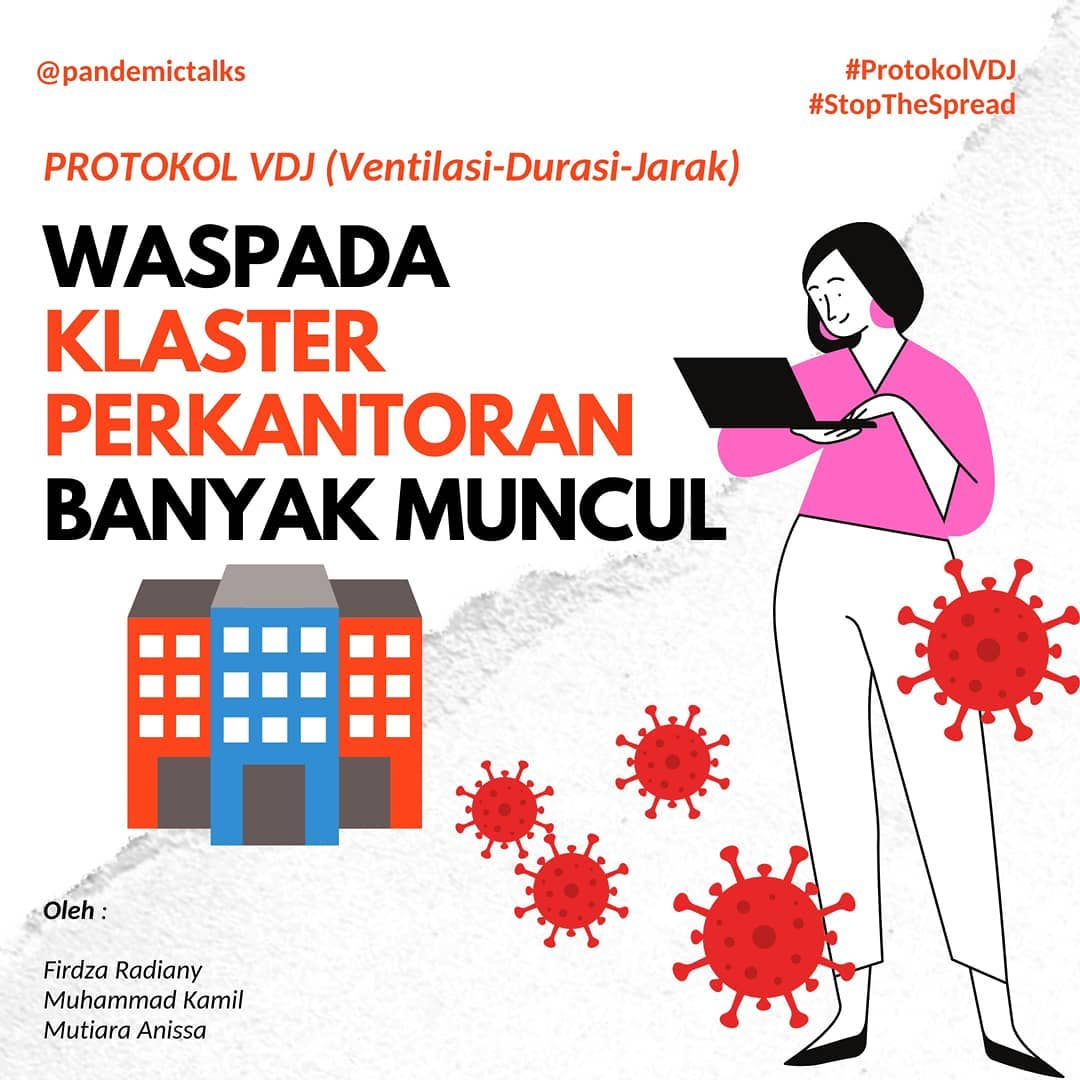 Office clusters in Indonesian cities - Pandemic Talks 1
