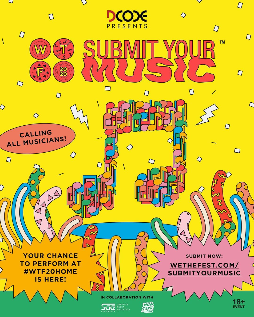 We The Fest 2020 virtual home edition - Submit your music