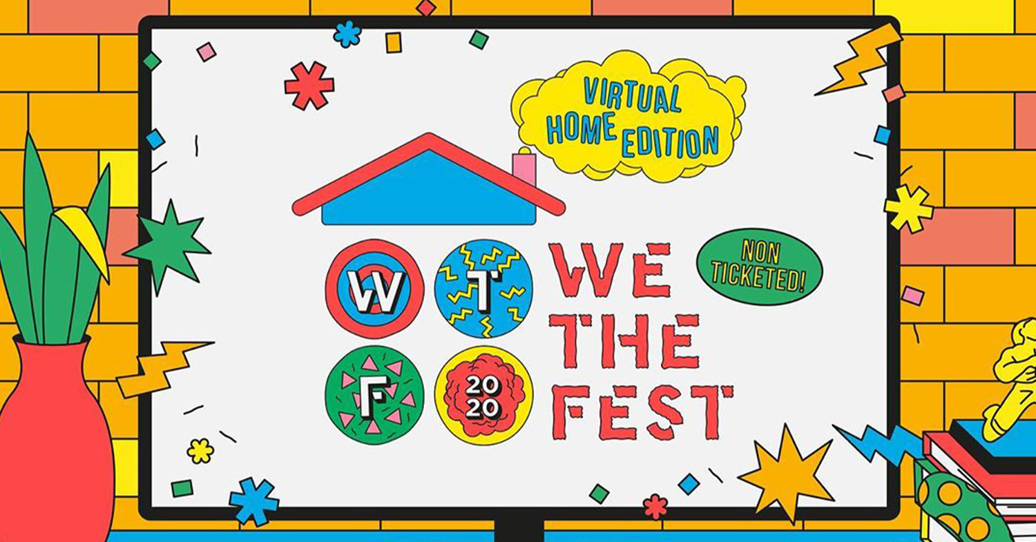 We The Fest 2020 virtual home edition