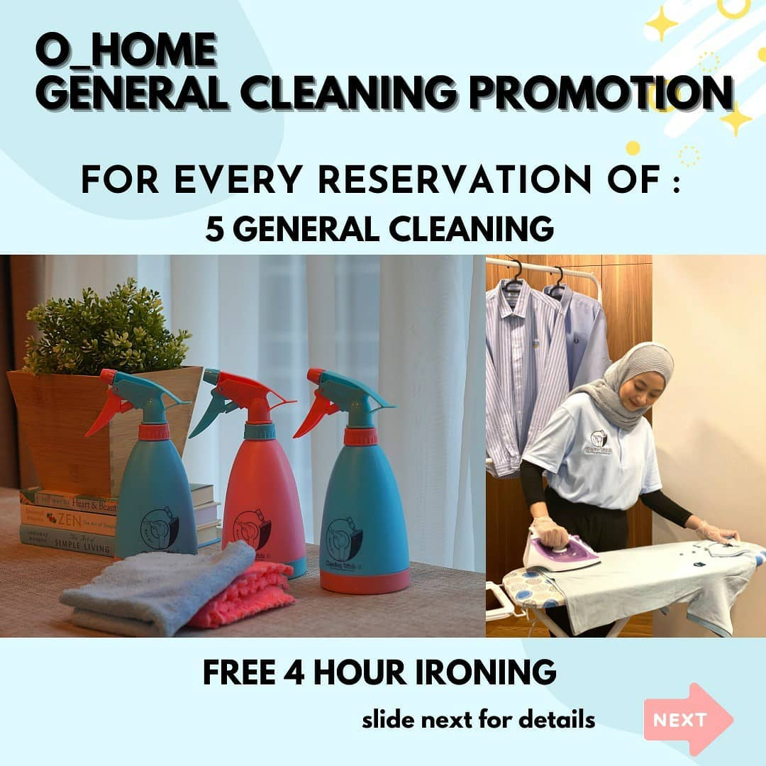 Cleaning service Indonesia - Cleaning with O 2