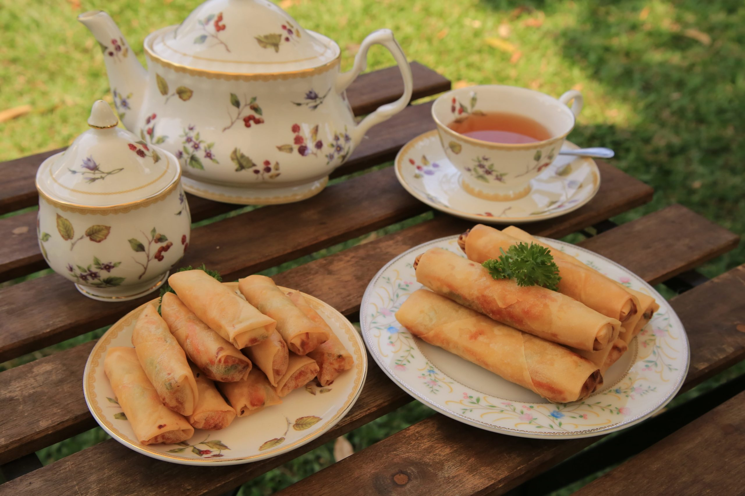 Lumpia or spring rools by Ku-dab