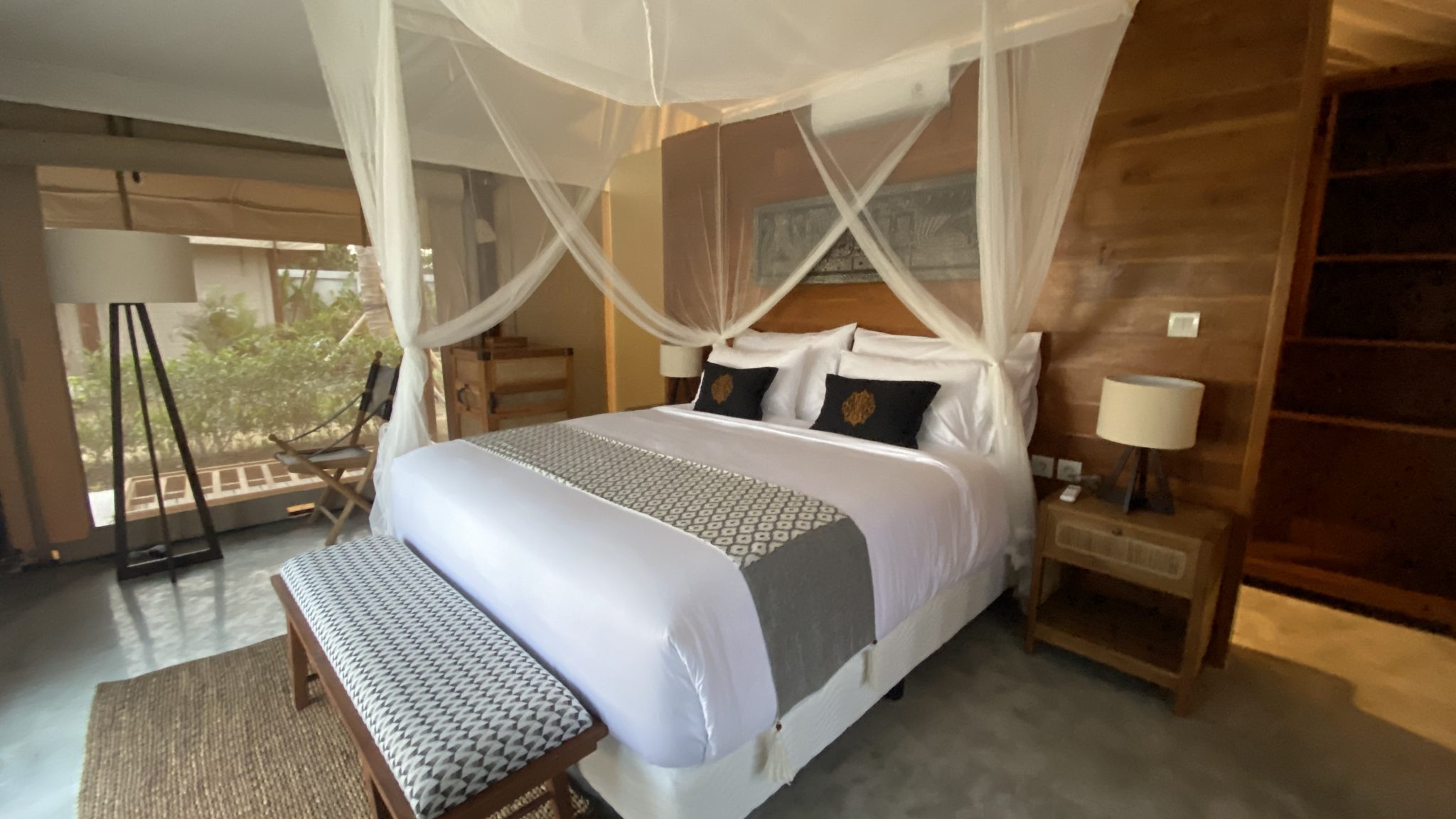 bali beach glamping deluxe tent
