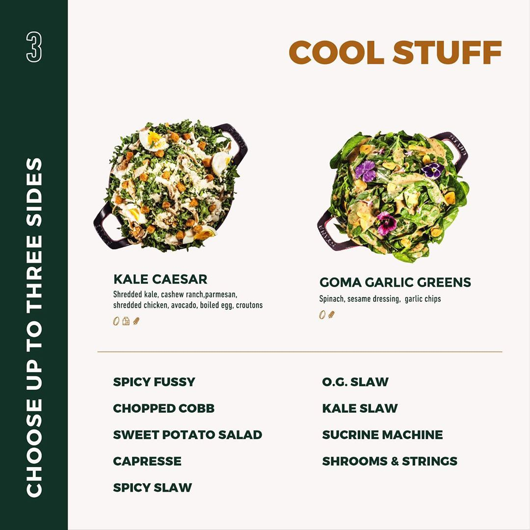 cold salads naughty by nature kfc