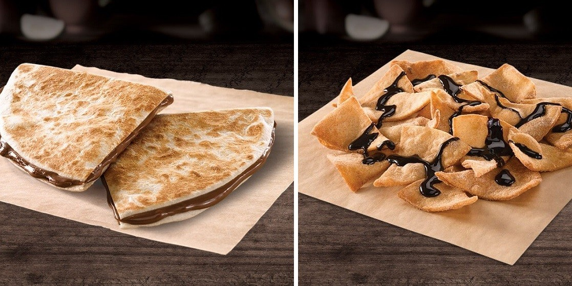 chocodilla and cinnamon tostadas taco bell indonesia