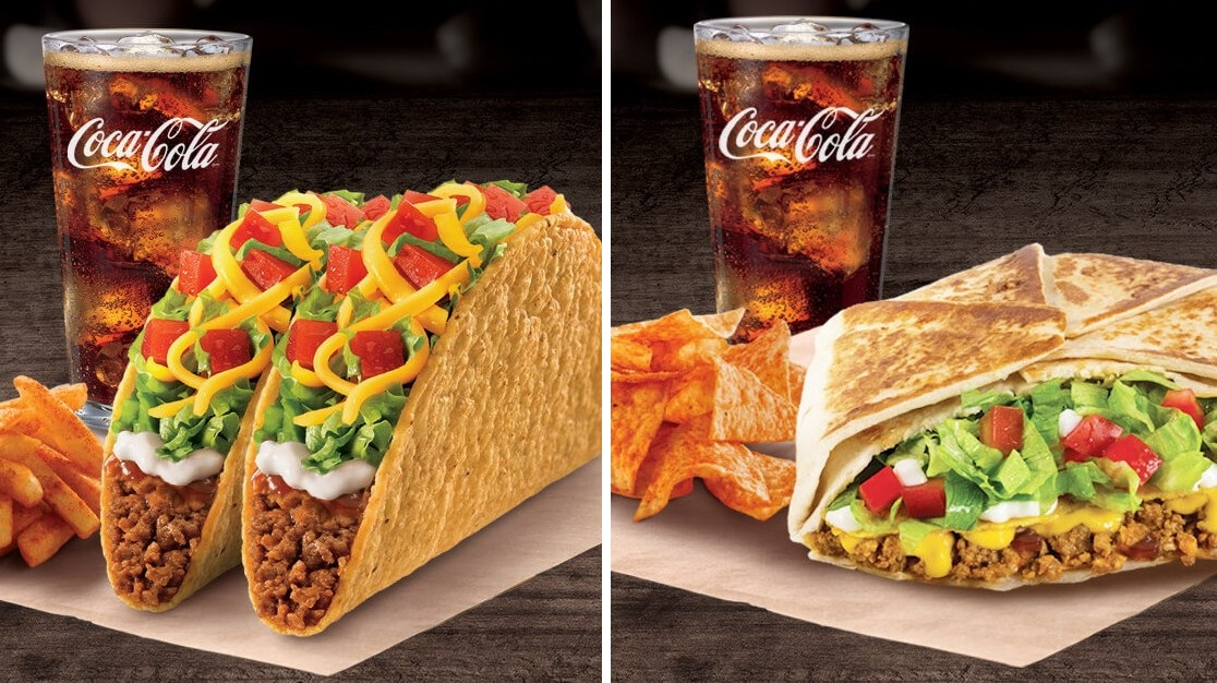 taco and crunchwrap supreme meals at taco bell indonesia