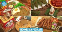 Artist's Ghibli-Style Indonesian Food Art Goes Viral, Making Quarantined Netizens Drool