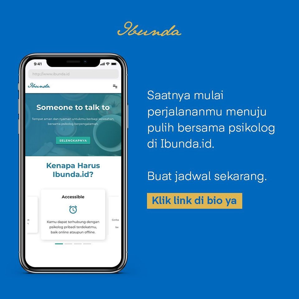 online counselling and therapy - ibunda.id app