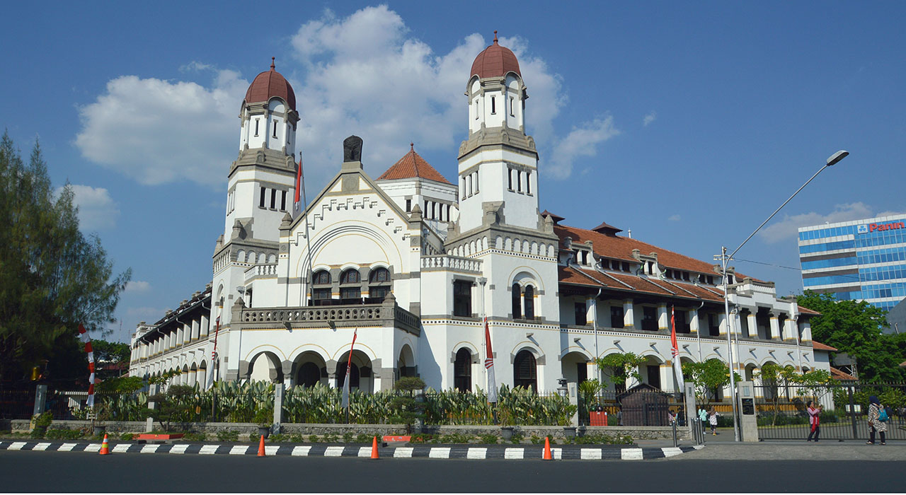 haunted places indonesia - lawang sewu