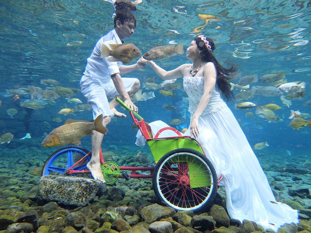 umbul ponggok - pre-wedding photoshoot