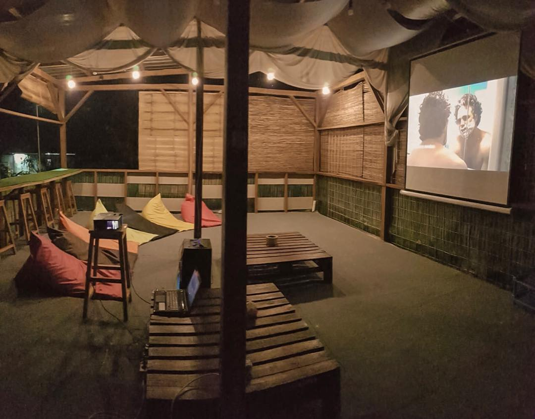 cinema at the forrester glamping co