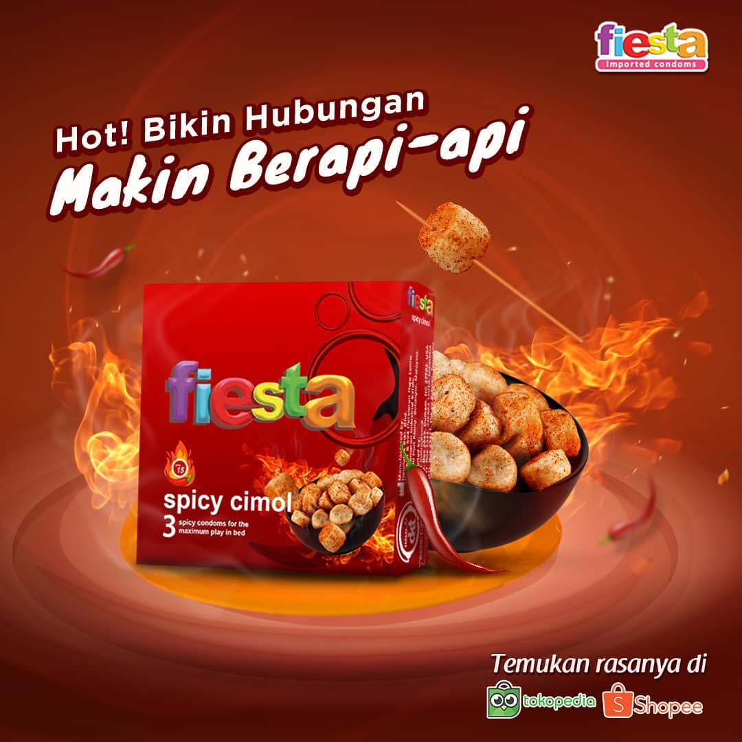 promotional image of fiesta spicy cimol