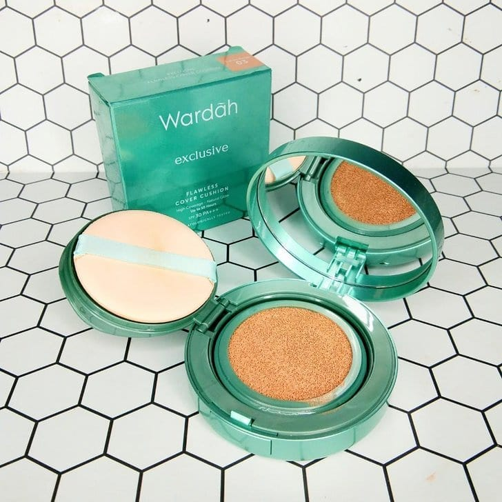 wardah beauty exclusive flawless cover cushion