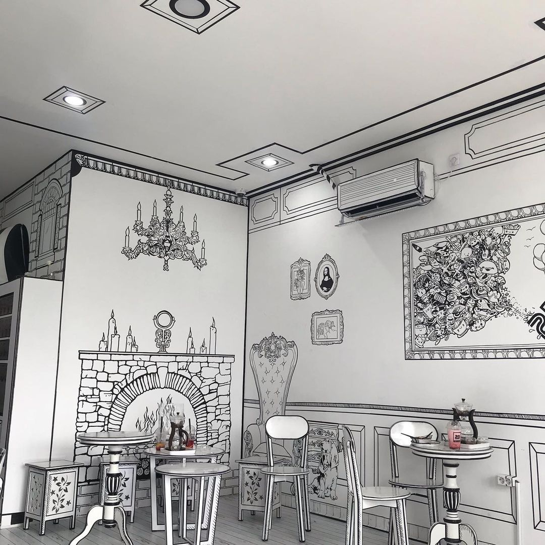 2d coffee and tea seating