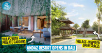 Andaz Bali Is A Brand-New Resort Offering Villas With Private Gardens & A Village-Inspired Open-Air Community Space