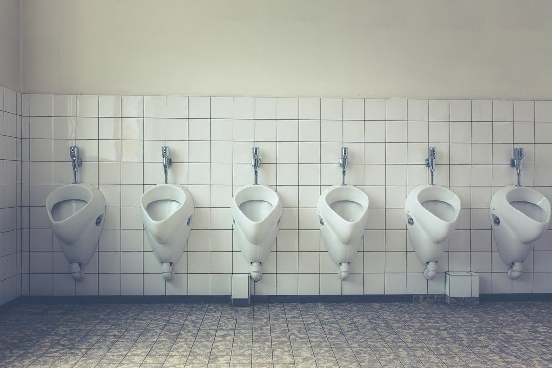 conventional urinals