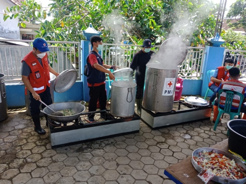 a community kitchen in malang