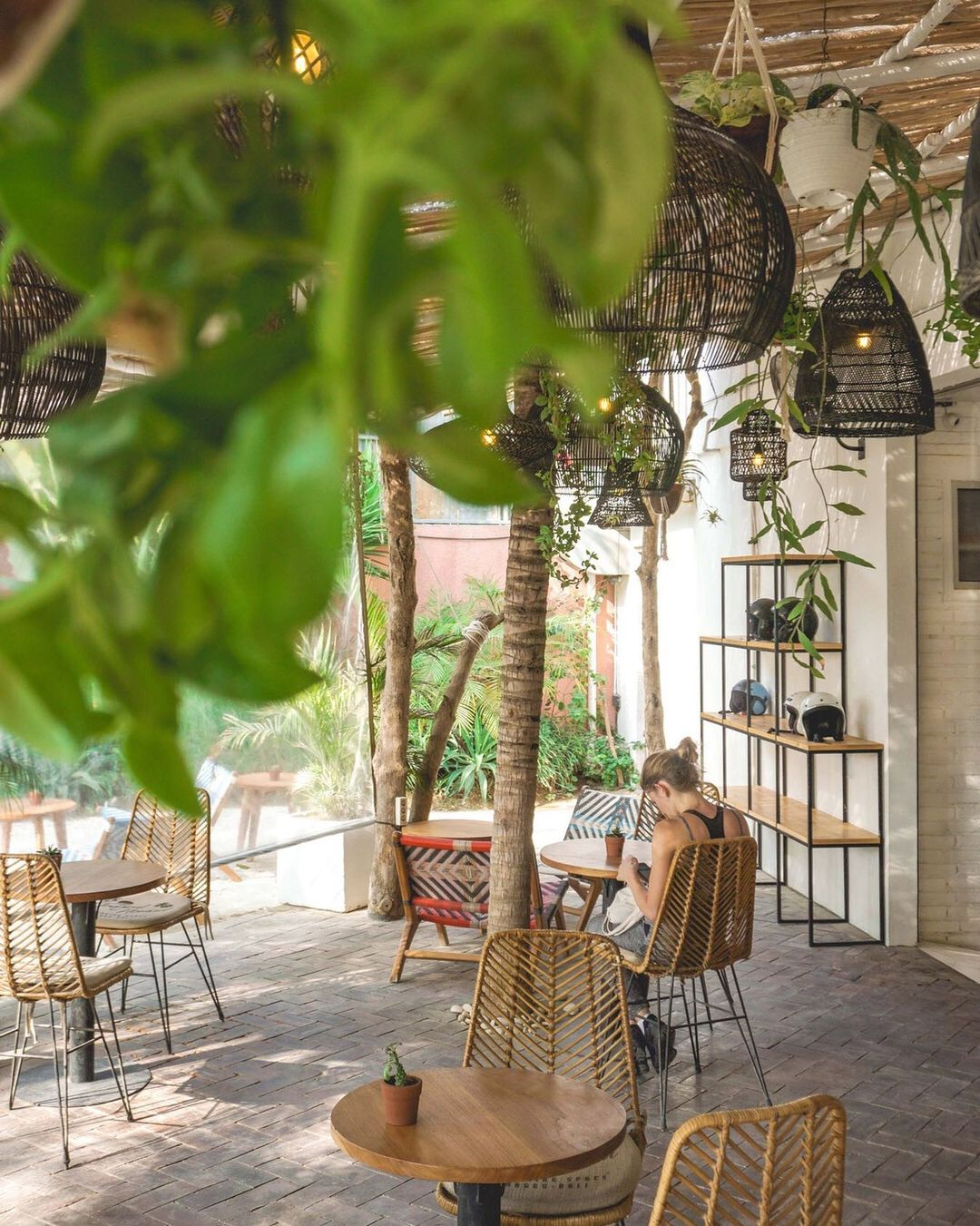 bali coworking spaces - tropical nomad patio