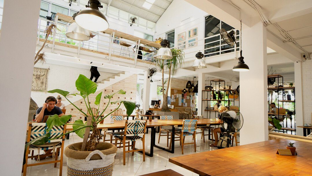 bali coworking spaces - tropical nomad