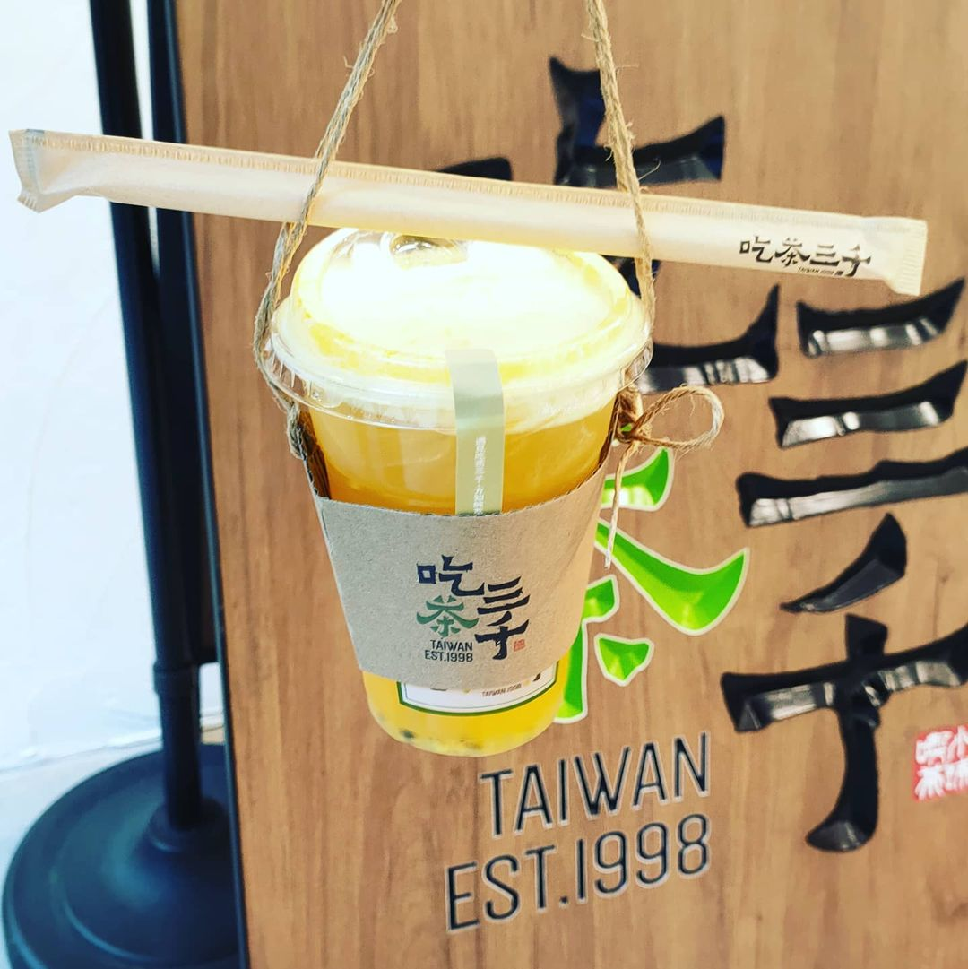 chicha san chen - green tea with passion fruit