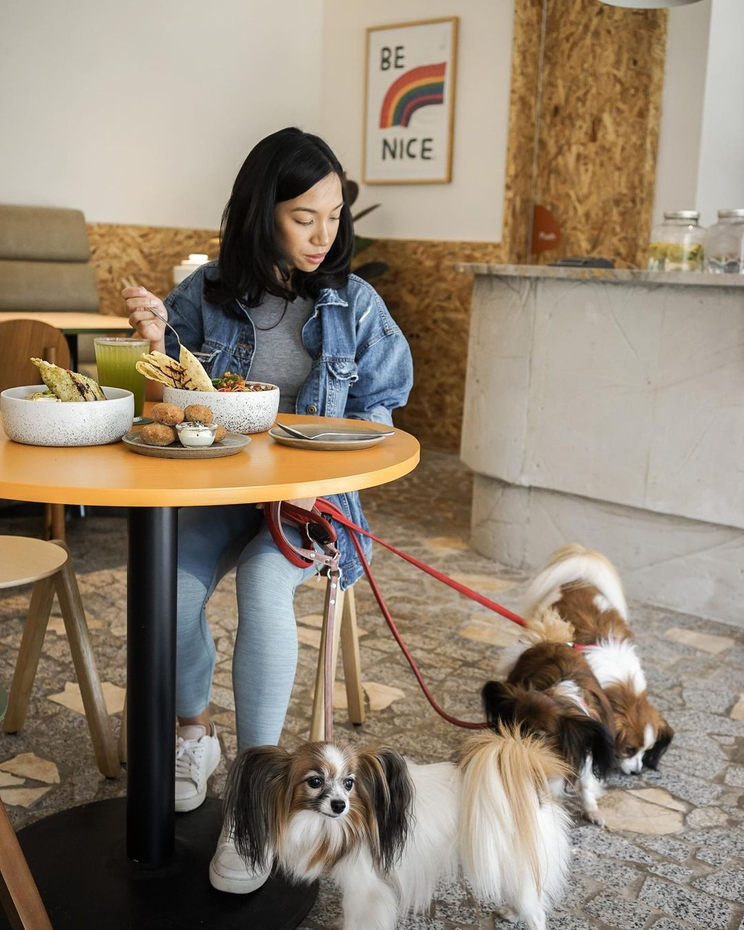 concept stores in jakarta - como park dining with dogs