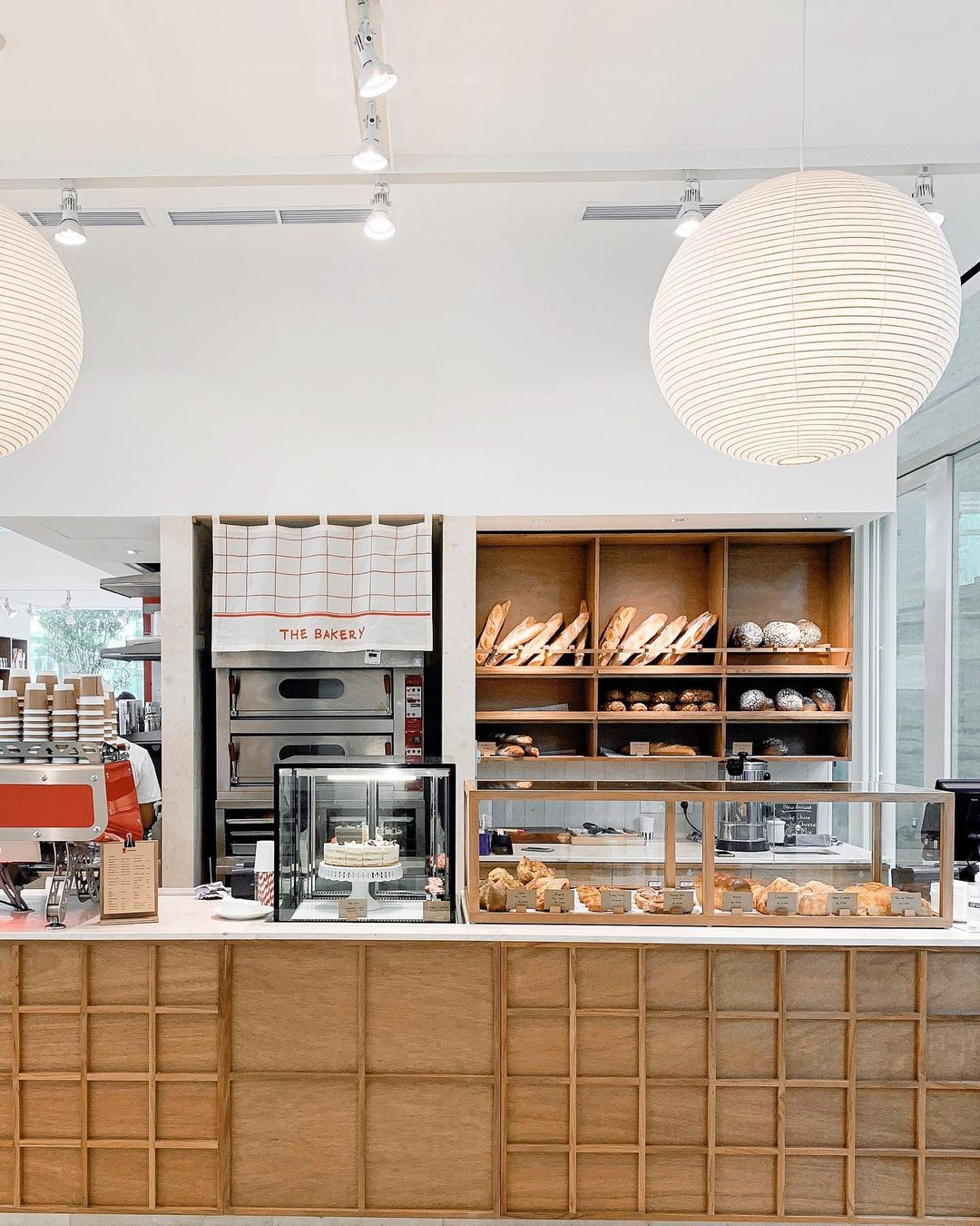 concept stores in jakarta - papilion bakery counter