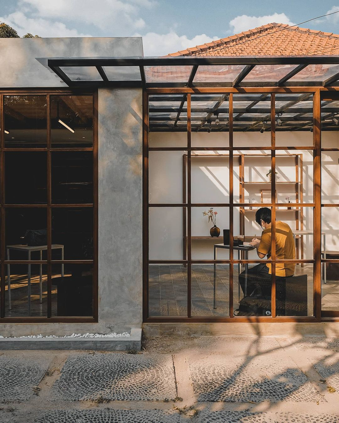 jakarta coffee shops for remote workers - kyo coffee exterior