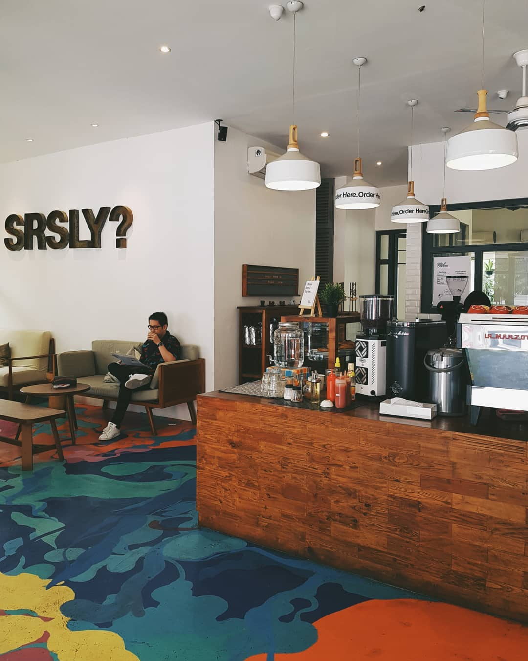 jakarta coffee shops for remote workers - srsly coffee
