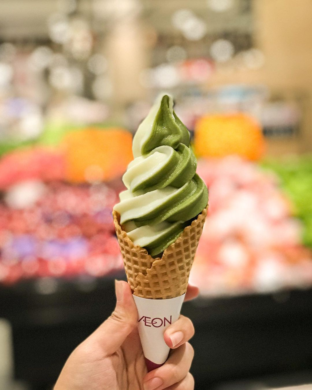 jakarta supermarkets with imported food - aeon supermarket ice cream