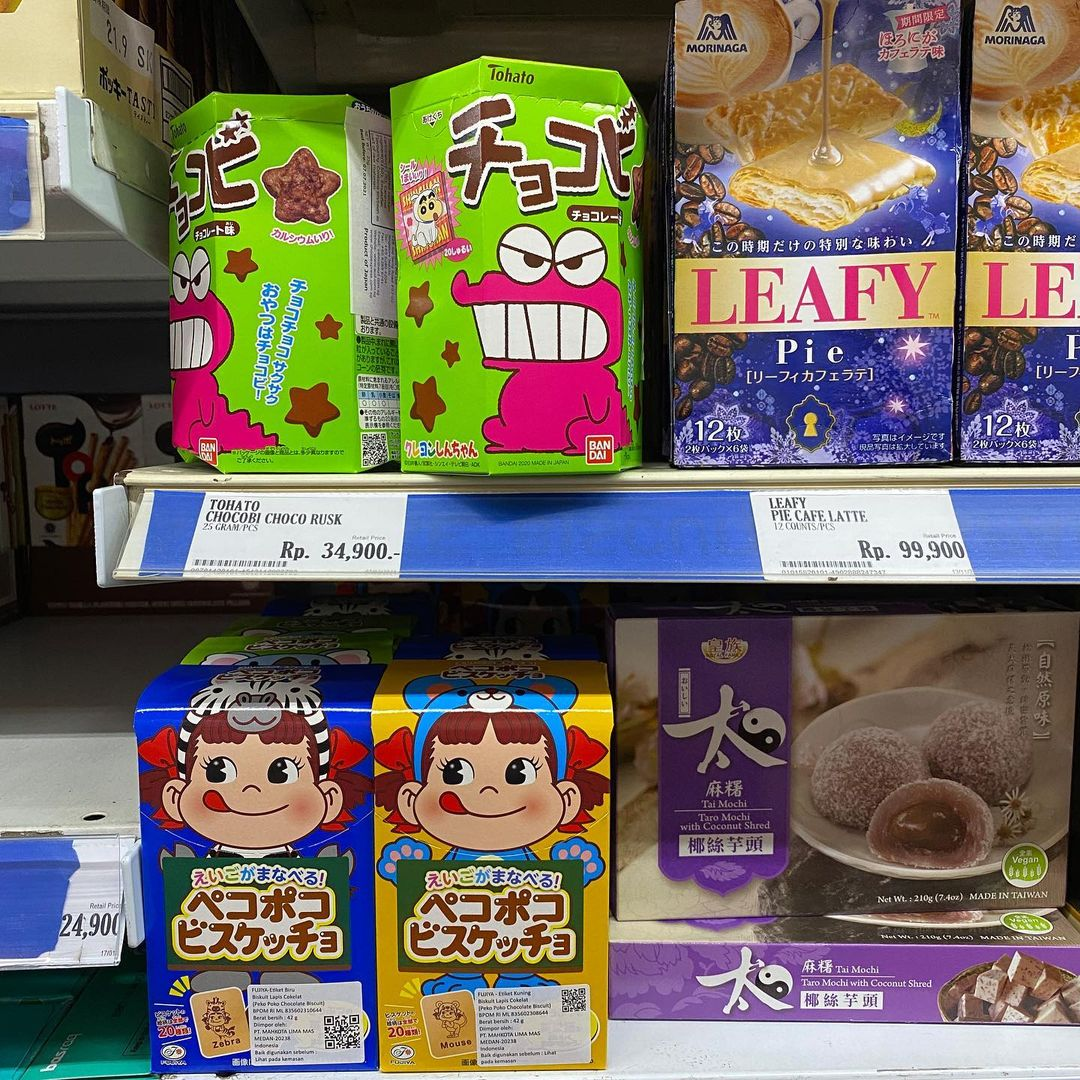 jakarta supermarkets with imported food - grandlucky superstore