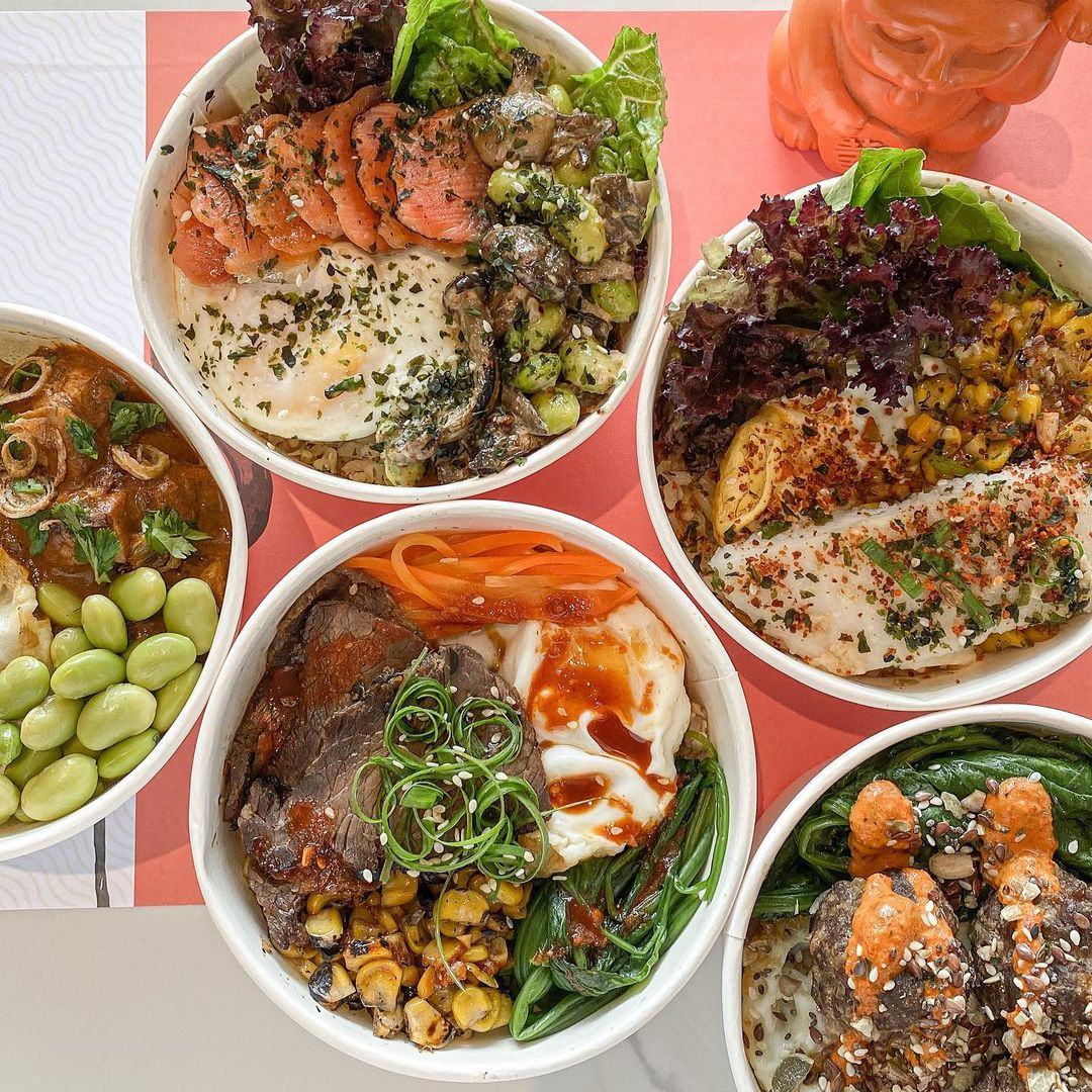 vegan and vegetarian cafes in jakarta - fedwell bowls
