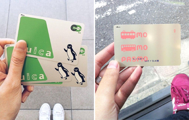 Pasmo and Suica IC Cards