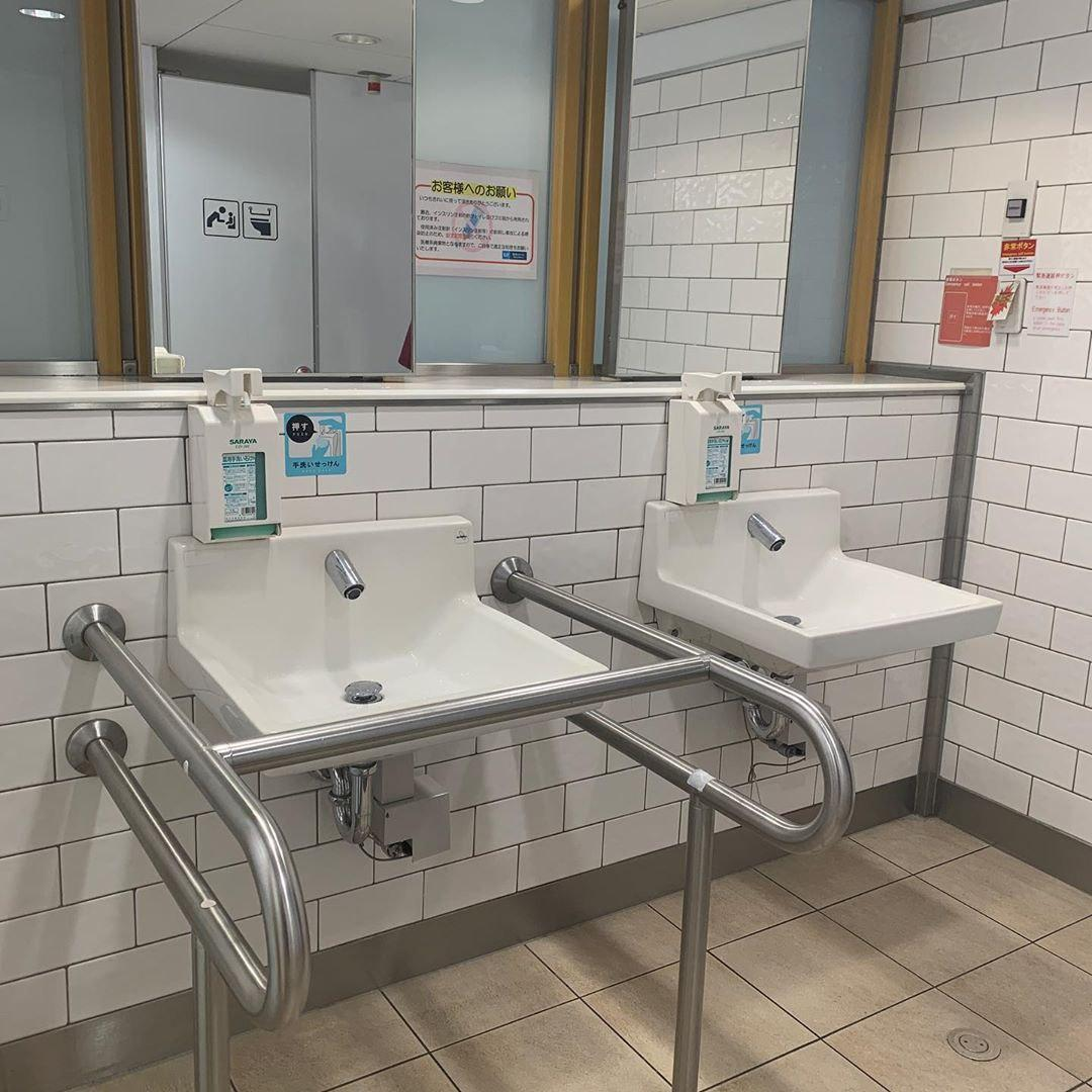 toilets in tokyo train stations
