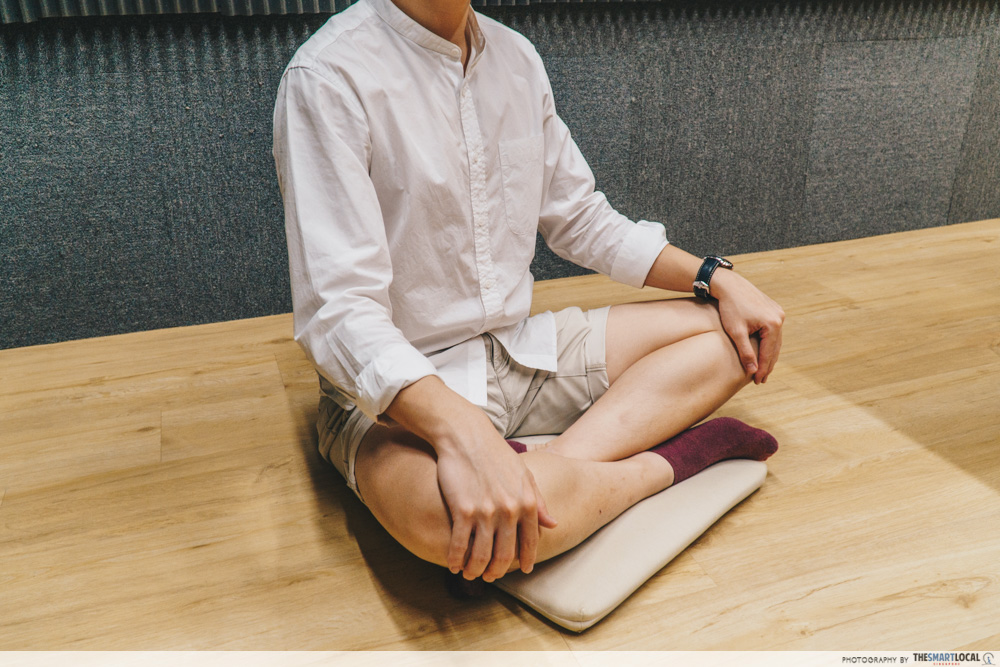 japanese casual seating positions