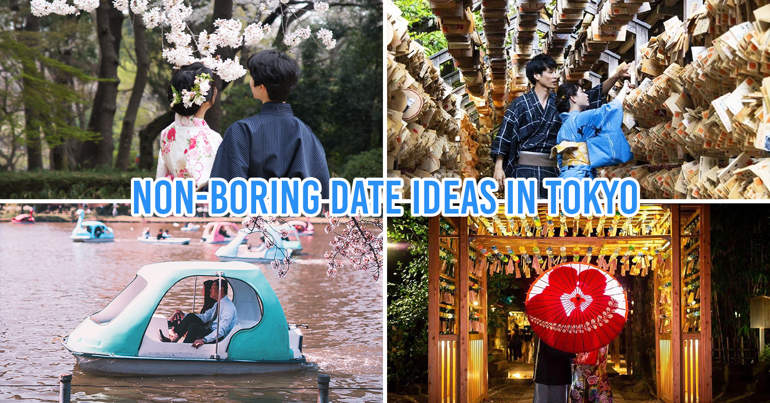 Romantic things to do in Tokyo cover