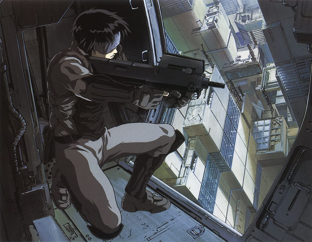 Ghost in the Shell anime movie