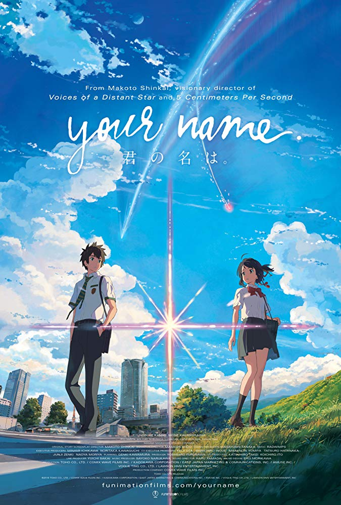 Your Name anime movie