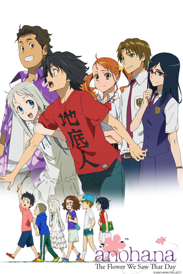 anohana iconic japanese anime