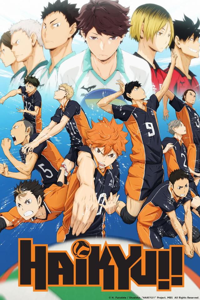 haikyu iconic anime series
