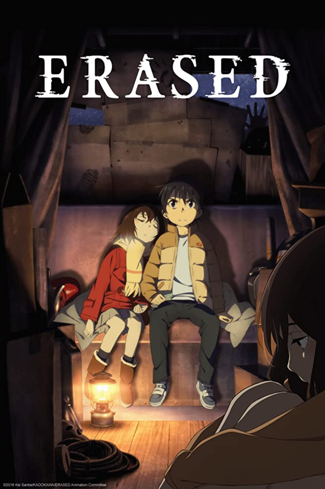 erased iconic japanese anime series