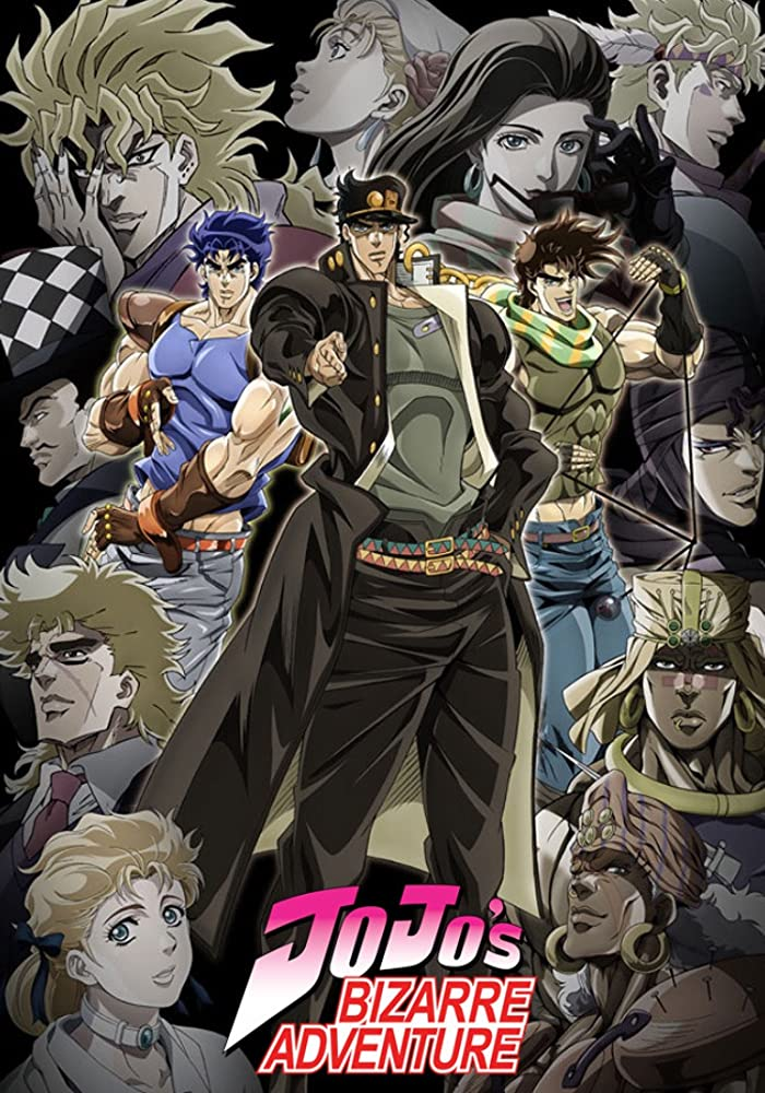 jojo's bizarre adventure iconic anime series
