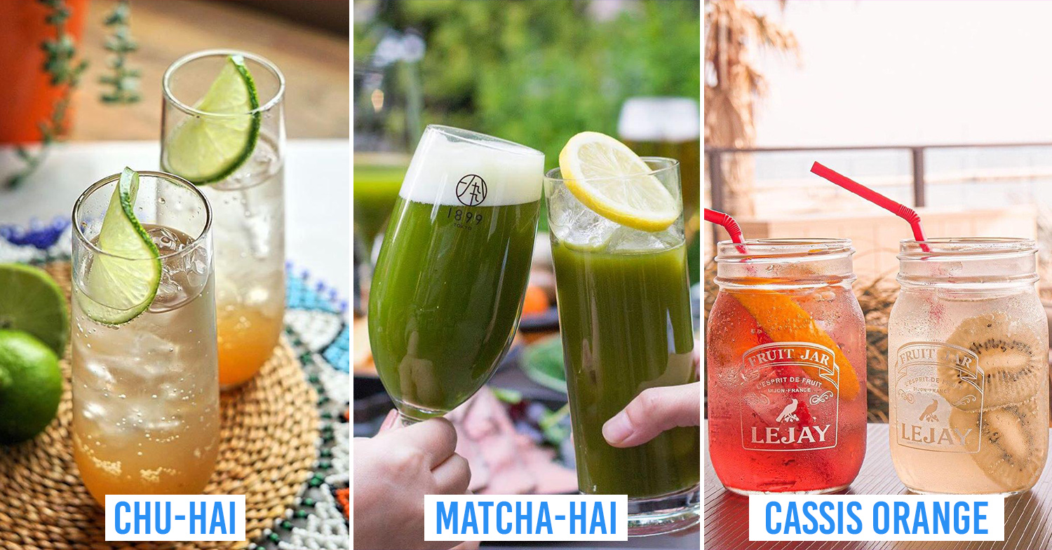 10 Japanese Cocktails To Try At Home With Ingredients You Can Get From The Supermarket