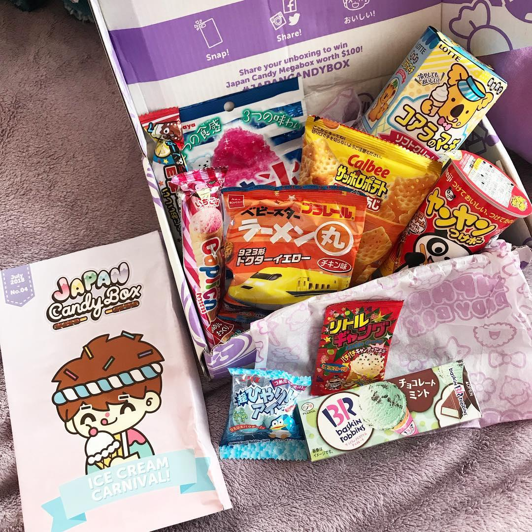 japan candy box japanese snack boxes