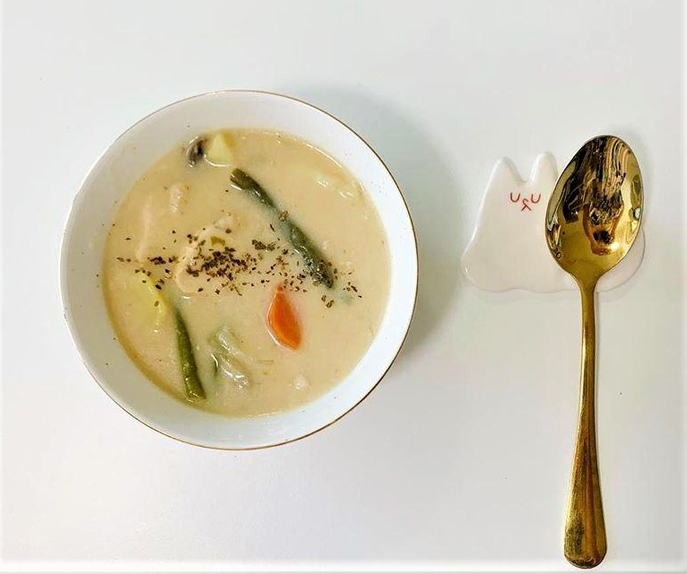 Japanese anime recipe Cream Stew