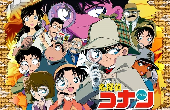 case closed detective conan 90s anime