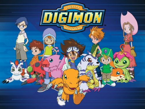 digimon adventure 90s anime