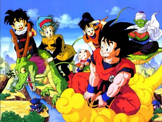 dragon ball z 90s anime